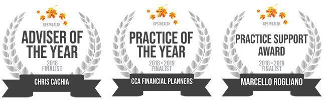 CCA Financial Planners - Awards